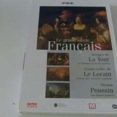 Le grand siecle francais - lorain,poussin ,de la tour  - dvd, Engleza