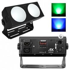 BARA LED 2X18W RGB CU FUNCTIE DMX, AFX