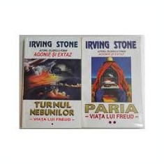 Irving stone turnul nebunilor ,paria / viata lui freud