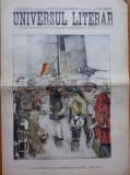Ziarul Universul Literar ,nr. 23 , 1909 , Principele Nicolae , scafandru , cromo