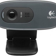 Camera Web Logitech C270, HD (Negru)