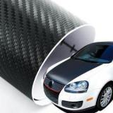 Folie Carbon 3D Economic pentru capota (1,5m x 1,27m) culori multiple
