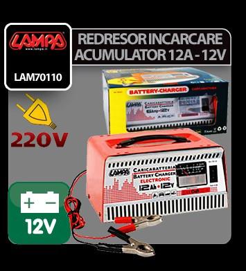 Redresor incarcare acumulator electronic 12A - 12V - IC969 foto