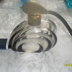 Pulverizator parfum masiv, din cristal