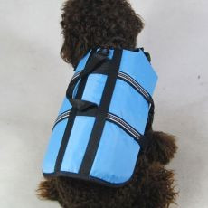 Vestă de salvare pentru câine – bleu, S foto