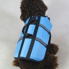 Vestă de salvare pentru câine – bleu, S