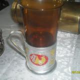 Pahare cu suport metalic pentru samovar
