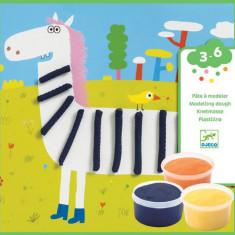 Atelier de modelat plastilina animale Djeco
