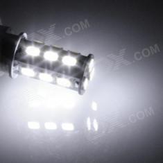 Set 2 becuri led P21W 18 SMD alb xenon, Universal