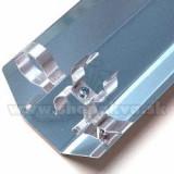 Reflector pentru tub fluorescent T8 – 18 W, 20 W / 590 mm