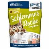 Happy Cat Schlemmerwoche - hrană pentru 7 zile, 7 x 50 g