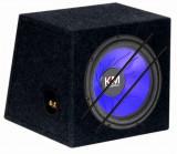 """Subwoofer Auto """"KM"""" capacitate 20l, difuzor 250mm, 280W, negru"""