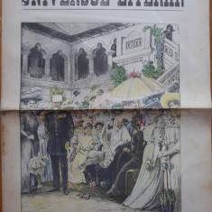 Ziarul Universul Literar ,nr. 24 , 1907 , familia Regala , cromolitografie