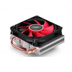 Cooler CPU DeepCool HTPC-200, MultiSocket, Ventilator 80mm, Heatpipe-uri Cupru