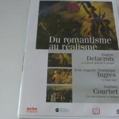 De la romantism la realism - delacroix, ingres, courbet - dvd, Engleza