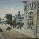 Bucuresti, Posta si Biserica Slatari// CP, Circulata, Fotografie