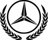 Sticker Mercedes 50 cm