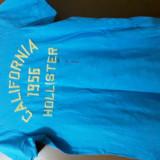 Tricou Barbati Hollister Marimea L, Albastru, Abercrombie & Fitch