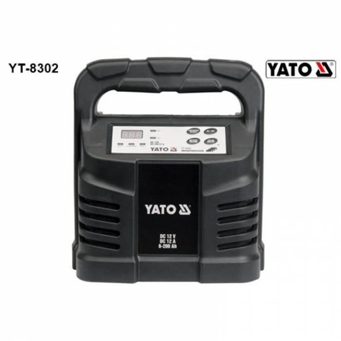Redresor 12V 12A 6-200Ah YT-8302
