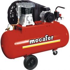 Compresor aer comprimat Mecafer B2800B 100l 10 bari, cu ulei