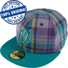 Sapca New Era Washington - originala - flat brim - fullcap