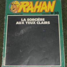 Rahan ,bimestrial nr.30,original,in limba franceza