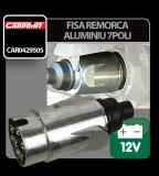 Fisa remorca aluminiu 7 poli Carpoint 12V - CRD-CAR0429505