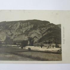 Rara! Breaza-Gara,foto(model carte postala) din 1934, Circulata, Fotografie
