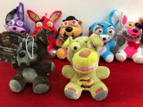 Five Nights at Freddy's set 7 jucarii de plus 20cm FNAF