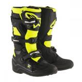 Alpinestars Cizme Tech 7S Black/Yellow Copii