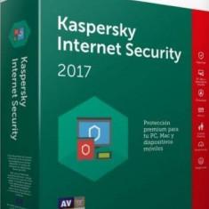 Kaspersky Internet Security 2017 Kaspersky 1An + 3luni gratuite Licenta Reinnoire Box