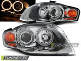 Faruri Angel Eyes pentru Audi A4 11.2004-03.2008 Tuning - Tec - VTT-LPAU57