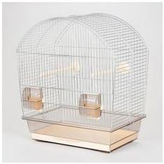 Colivie pentru papagali MEGI crom - 43 x 25 x 47cm