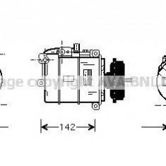 Compresor clima, aer conditionat Vw Touareg (7la, 7l6, 7l7) 2.5 R5 TDI 5.0 R50 V10 AVA QUALITY COOLING - VWAK087