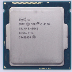Intel Dual Core i3-4130 3.4 GHz , Haswell, 3MB Cache, 1150, TDP 54W, GARANTIE!, Intel Core i3, 2