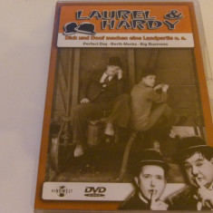 laurel and hardy - perfect day, big bussines - dvd