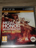 PS3 Medal Of Honor Warfighter LIMITED EDITION
