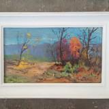 Pictura / tablou - peisaj -culori de toamna - de Podolyak Vilmos, Peisaje, Ulei, Impresionism