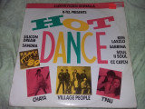 Disc vinil,HOT DANCE,SILICON DREAM SANDRA,CHAJA,VILLAGE PEOPLE,T PAU.T.GRATUIT