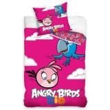 Lenjerie pat copii Zen Art Deco – Angry Birds