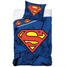 Lenjerie pat copii Zen Art Deco – Superman