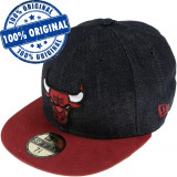 Sapca New Era Chicago Bulls - originala - flat brim - fullcap, 7, 7 1/2, 7 1/4, Din imagine