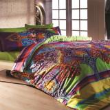 Lenjerie de pat cu cearșaf, Zen Art Deco Orient