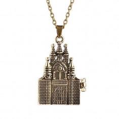 Pandantiv / Colier / Lantisor / Medalion - HARRY POTTER - Castelul Hogwarts