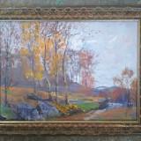 Pictura / tablou - peisaj de toama - de Podolyak Vilmos, Peisaje, Ulei, Impresionism