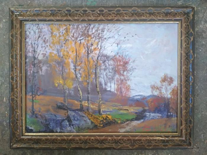 Pictura / tablou - peisaj de toama - de Podolyak Vilmos