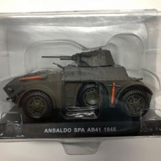 Macheta Ansaldo SPA AB41 - 1946 CARABINIERI scara 1:43