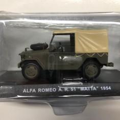 Macheta Alfa Romeo A.R. 51 MATA - 1954 CARABINIERI scara 1:43
