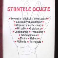 """STIINTELE OCULTE"", G. Plytoff, 2004. Absolut noua, Alta editura"