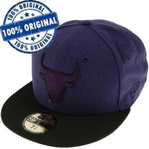 Sapca New Era Chicago Bulls - originala - flat brim - fullcap
